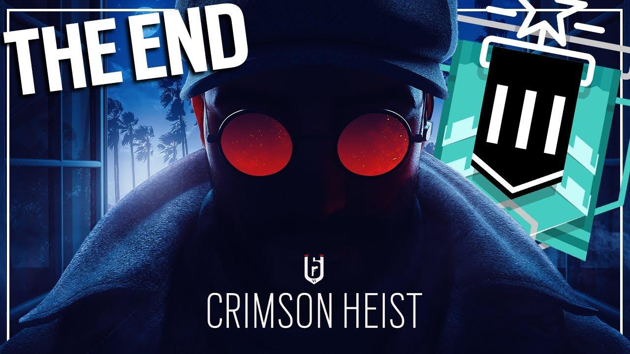Copper to Diamond: The End of Crimson Heist - Rainbow Six Siege
