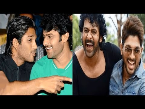 Tollywood Best Friends Prabhas And Allu Arjun Rare And Unseen Pics | Must Watch