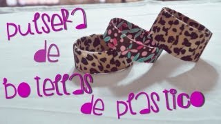 Repeat youtube video #PixxelArt - Pulseras De Botellas De Plástico [DIY]