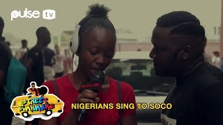 Wizkid 'Soco', Wande Coal 'Iskaba', Lil Kesh 'Shoki Remix' On Street Karaoke | Pulse TV