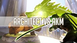 Overwatch - Shock Architect God Genji Vs AKM & Bunny