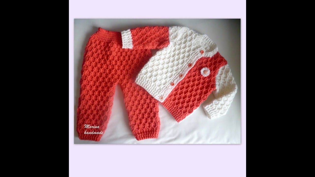 Crochet Patterns For Crochet Baby Sweater 2334 Youtube