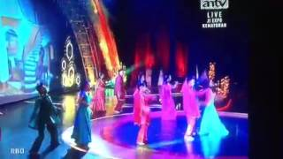Tapasya uttaran aka rashami desai dance in antv birthday 10