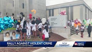 Rally against violent crime