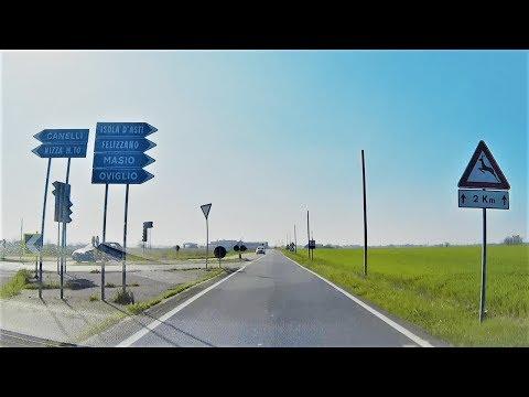 Da Castellazzo Bormida A Oviglio (AL) - From Castellazzo Bormida To Oviglio (Alessandria, Italy)