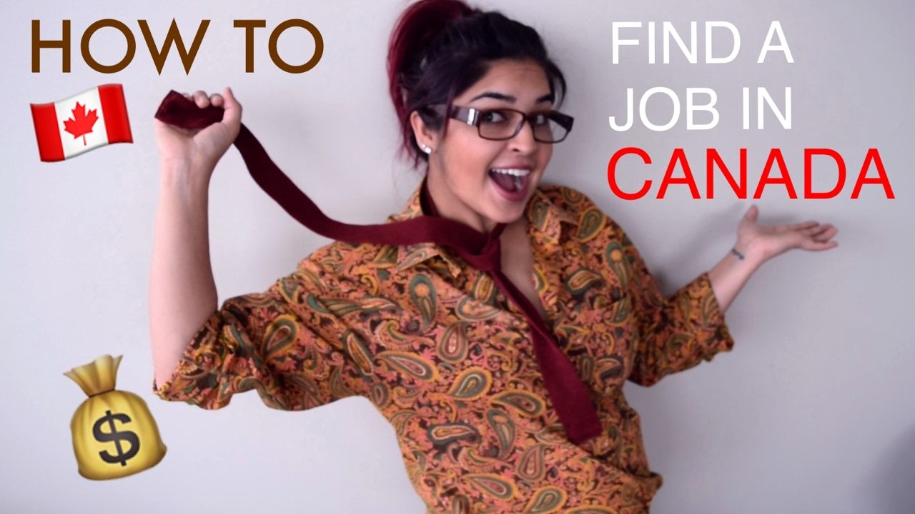 how to get job in canada