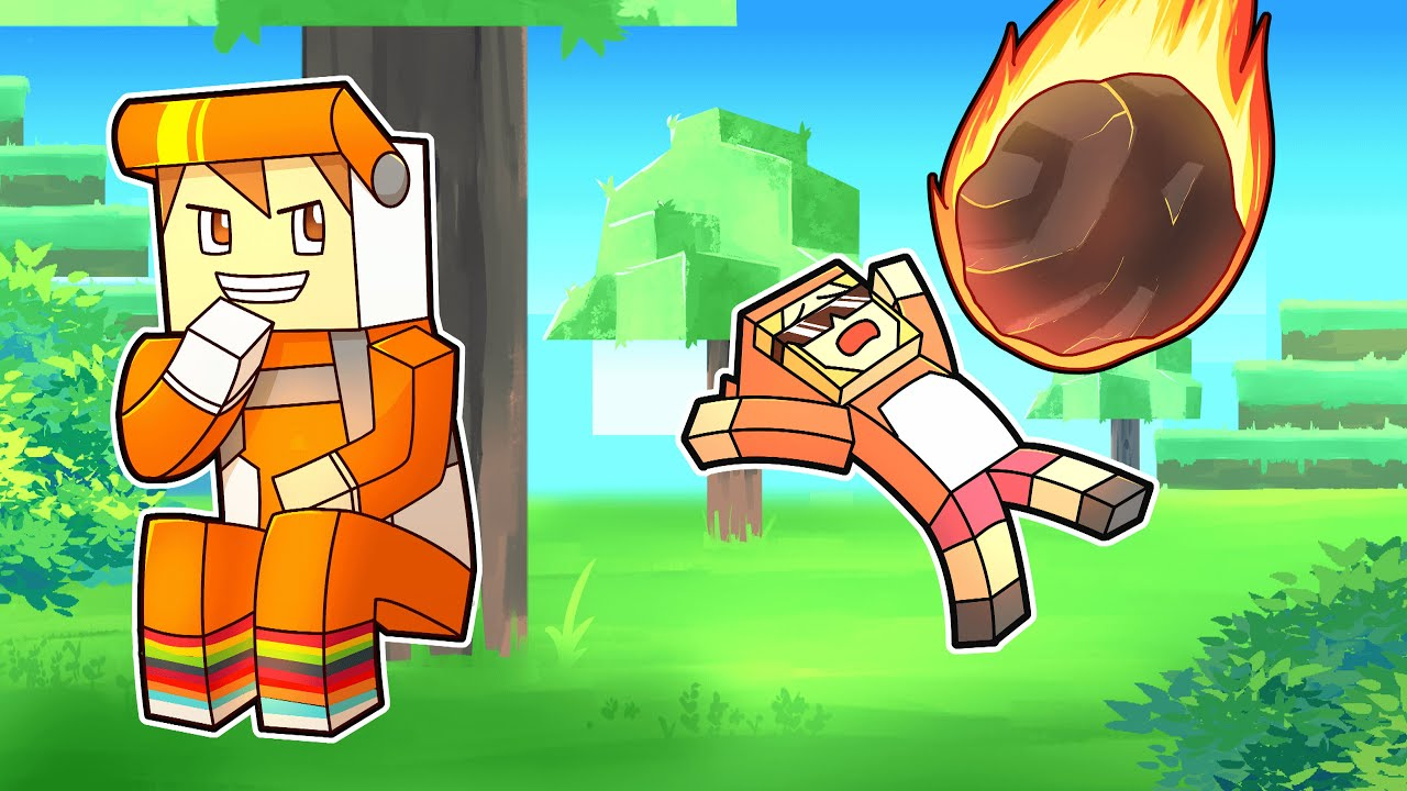 minecraft manhunt but CROUCHING causes DISASTERS