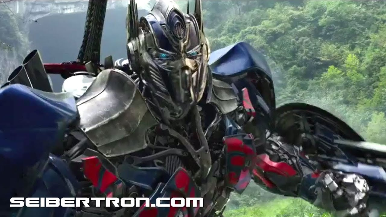 transformers age of extinction teaser trailer hd - optimus prime vs