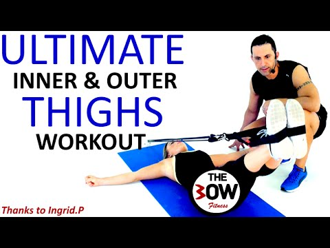 ZERO CELLULITE: Inner-outer thighs workout for better legs!