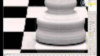 Моделирование шахматной фигуры короля в 3D MAX