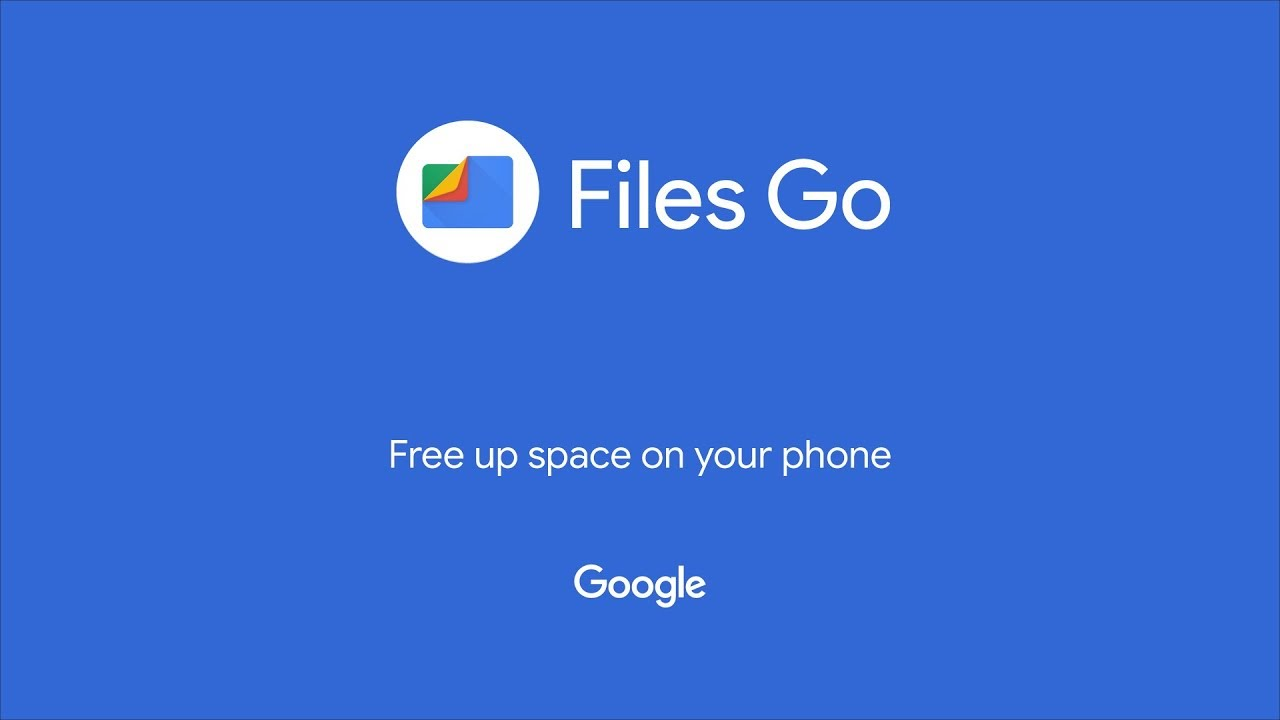 Files Go by Google: Free up space on your phone - YouTube
