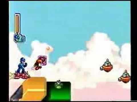 Mega Man 8 Speed Run - Tengu Man stage