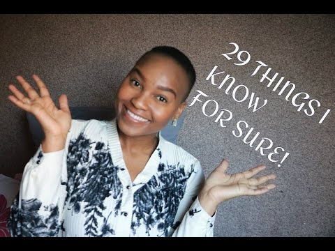 29 Things I know for sure | Elle's Birthday Special | South African Youtuber