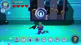 Lego Batman 3: Beyond Gotham (PS Vita/3DS) The Weapons Lab - Free Play - Lex Luthor Smash Challenge