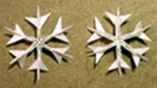 Christmas Origami Instructions: Snowflake (jared Needle)