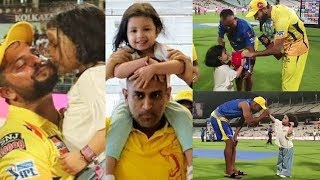Ziva Dhoni Videos With CSK Players   PL 2019  MS Dhoni Daughter