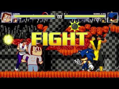 AN Mugen Request #1209: Crow & Yuri VS Sonic.exe & Scorpion