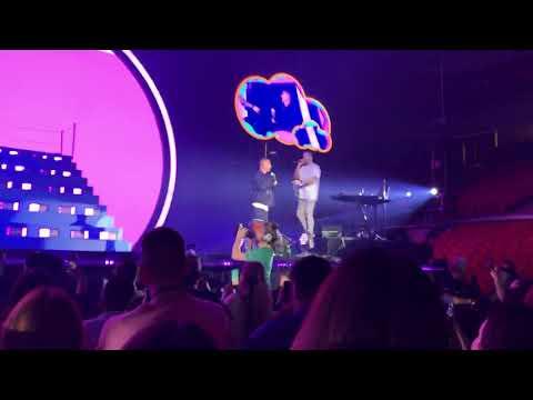 J Balvin Live @ United Supermarkets Arena - X - Lubbock, TX (Arco Iris Tour 2019)