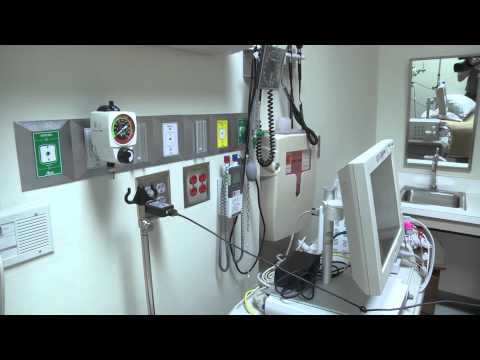 B-Roll: Emory University Hospital Isolation Unit