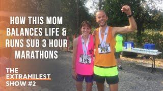 How This Mom Balances Life & Runs Sub 3 Hour Marathons
