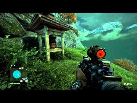 Far Cry 4 - Mask Of Yalung Location - #25 – Kyra's Respite | X:422 Y:392 (PC HD) [1080p]