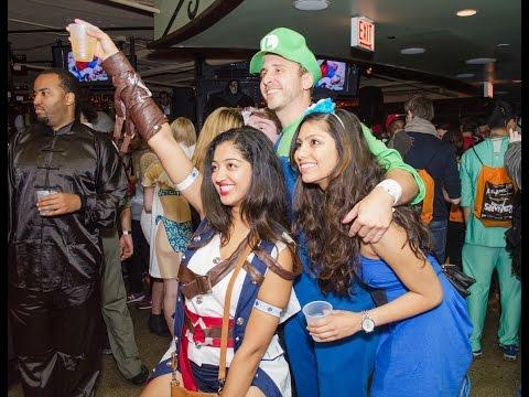 2015 Halloween Bar Crawl - A Nightmare on Hubbard Street