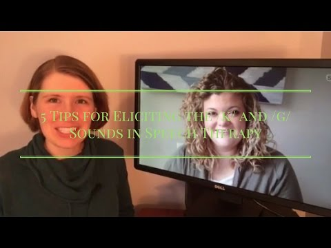 5 Tips for Eliciting the /k/ and /g/ Sounds in Speech Therapy