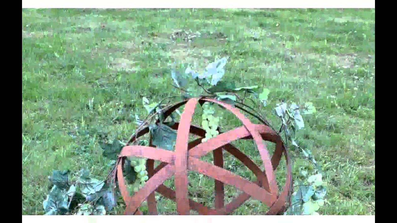 Gartendeko aus eisen rost inspiration youtube for Gartendeko eisen