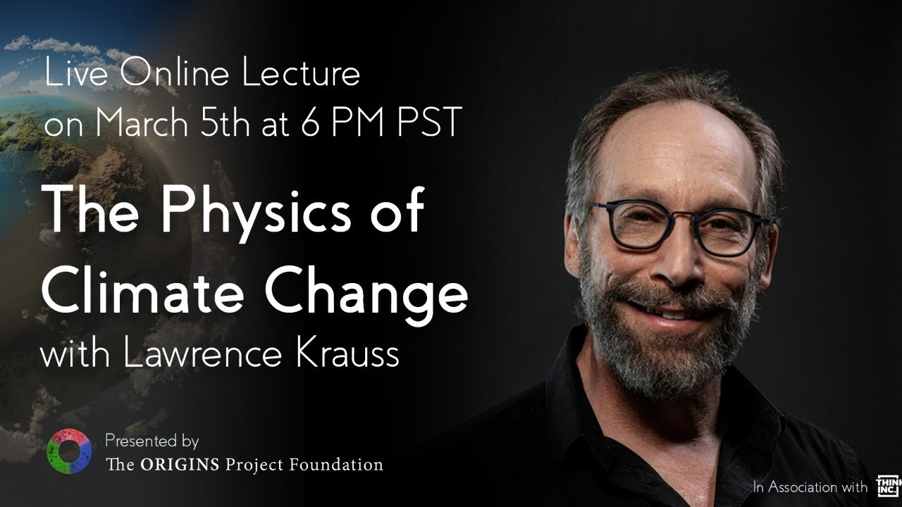 The Physics of Climate Change lecture