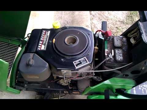 JOHN DEERE LX173 LX 173 15HP Kohler Lawn Tractor Mower