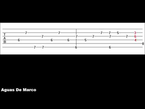 Aguas De Marco Guitar Tab