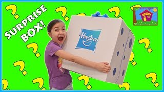 Huge Surprise Box Toy Opening with New Frozen, Disney Princess Toys & more!