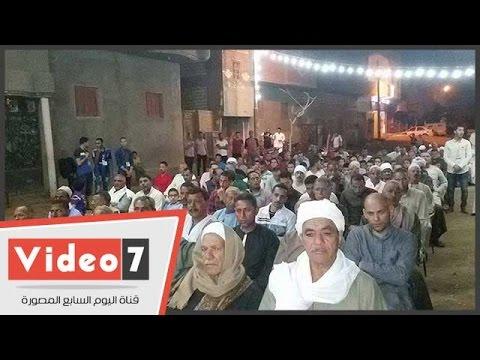 مؤتمر جماهيرى حاشد بقرية بروة فى بنى سويف لتيسير الزواج  - 03:21-2017 / 4 / 22