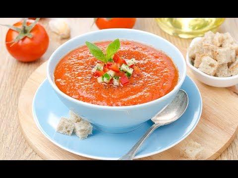 receta de gazpacho andaluz tradicional