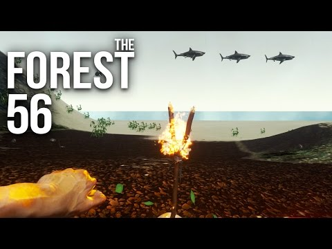 THE FOREST [HD+] #056 - Haus am Strand, 2ter Versuch ★ Let's Play The Forest