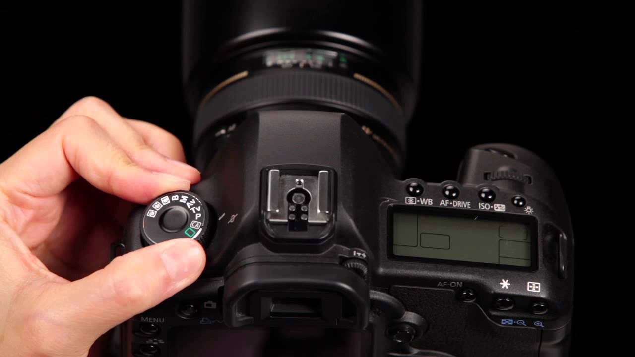 Canon EOS 5D Mark II Updating Firmware - YouTube