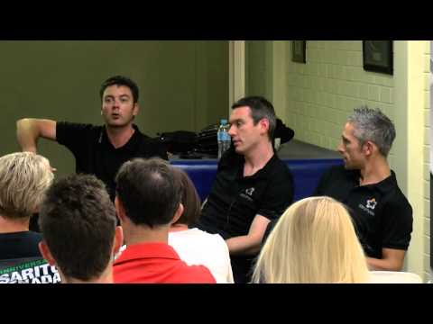 Swimming injuries - General Concepts from Damian's experience with the AIS swim team.