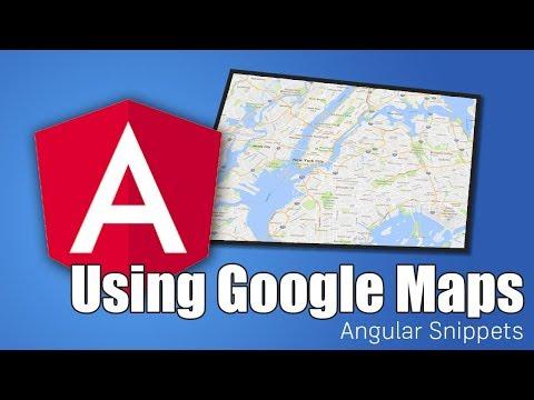 Google Maps & Angular   ANGULAR SNIPPETS - YouTube