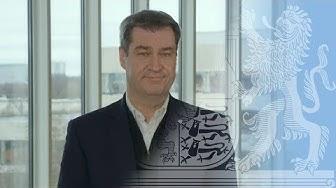 Ministerpräsident Dr. Söder zum Coronavirus - Bayern