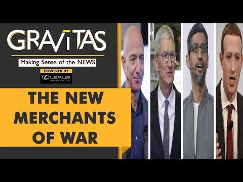 Gravitas: Big Tech companies are making billions from war
