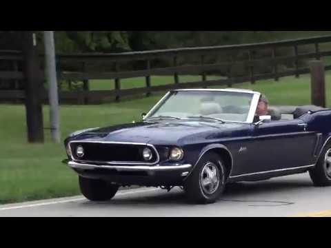 1969 Ford Mustang convertible formerly owned by Golf Legend Lee Trevino