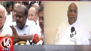 Karnataka Govt Formation : BJP Tries To Form Govt In Wrong Way, Says Mallikarjun Kharge | V6 News