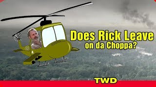 TWD Does Rick leave on da Choppa? We ask the question about Andrew ...