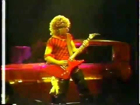 sammy hagar 1983 live from the checkerdome st louis mo youtube