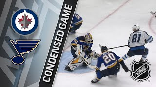 12/16/17 Condensed Game: Jets @ Blues