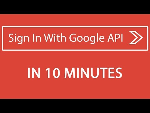 Sign In With Google PHP API