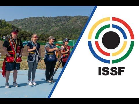 Skeet Women Final - 2018 ISSF World Cup Stage 2 in Changwon (KOR)