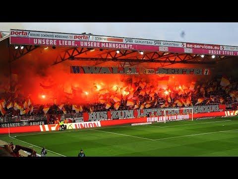 INTRO + CHOREO + PYRO FC Union Berlin - Eintracht Braunschweig