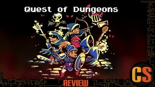 QUEST OF DUNGEONS - REVIEW (Video Game Video Review)