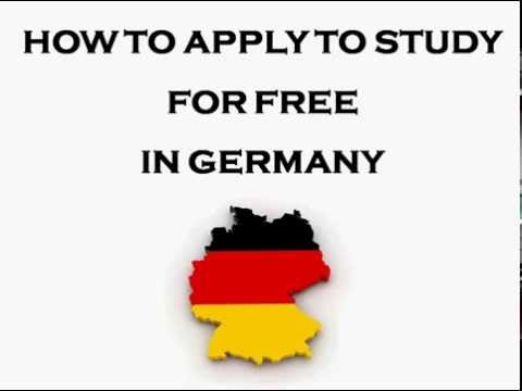 How To Apply For a Free Undergraduate or Masters Degree Study Programme in Germany